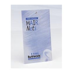 HAIR NET FILETS CHIGNONS BUNHEADS COLORIS BLOND- BLACK-  MEDIUM BROWN