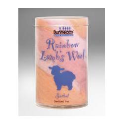 COTON CARDE RAINBOW LAMB S WOOL BUNHEADS  SORBET